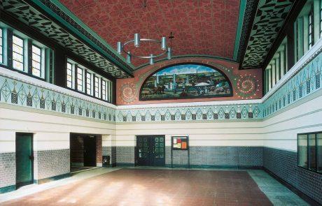 Wand und Deckenmalereien restauriert von der Restaurierungen Berchem GmbH