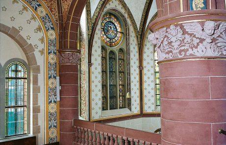 Ev. Kirche in Essen-Werden restauriert von der Restaurierungen Berchem GmbH