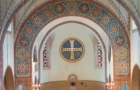 Herz Jesu Kirche in Bochum Werne restauriert von der Restaurierungen Berchem GmbH