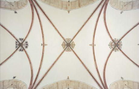 Kirchendecke restauriert von der Restaurierungen Berchem GmbH