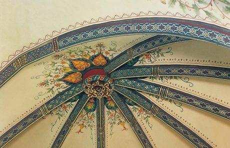 Deckenmalereien restauriert von der Restaurierungen Berchem GmbH