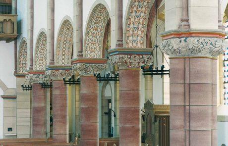 Architekturfassungen restauriert von der Restaurierungen Berchem GmbH