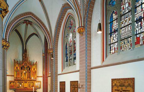 St. Marien Kirche in Bonn restauriert von der Restaurierungen Berchem GmbH