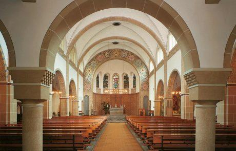St. Michael Kirche in Bottrop restauriert von der Restaurierungen Berchem GmbH