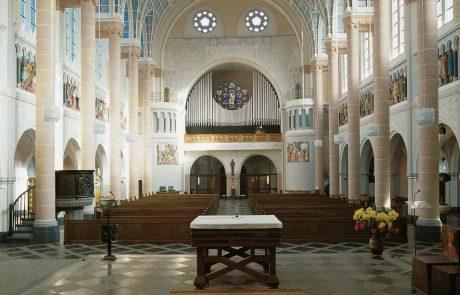 St. Nikolaus Kirche in Essen-Stoppenberg restauriert von der Restaurierungen Berchem GmbH