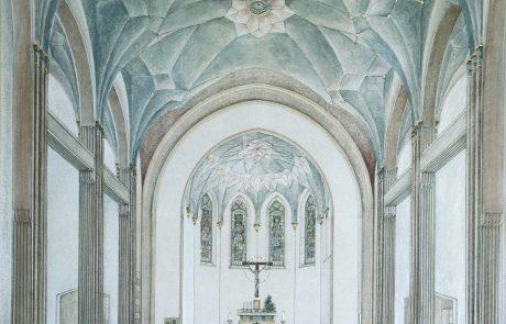 Gesamte Kirche restauriert von der Restaurierungen Berchem GmbH