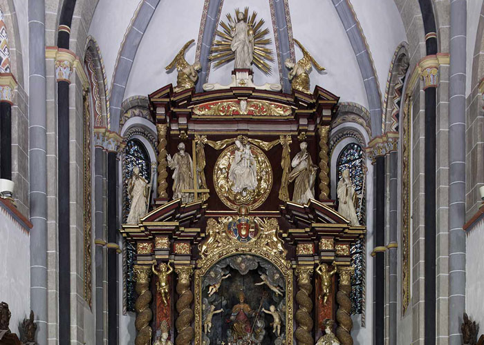 Architekturfassung restaueriert von der Restaurierungen Berchem GmbH
