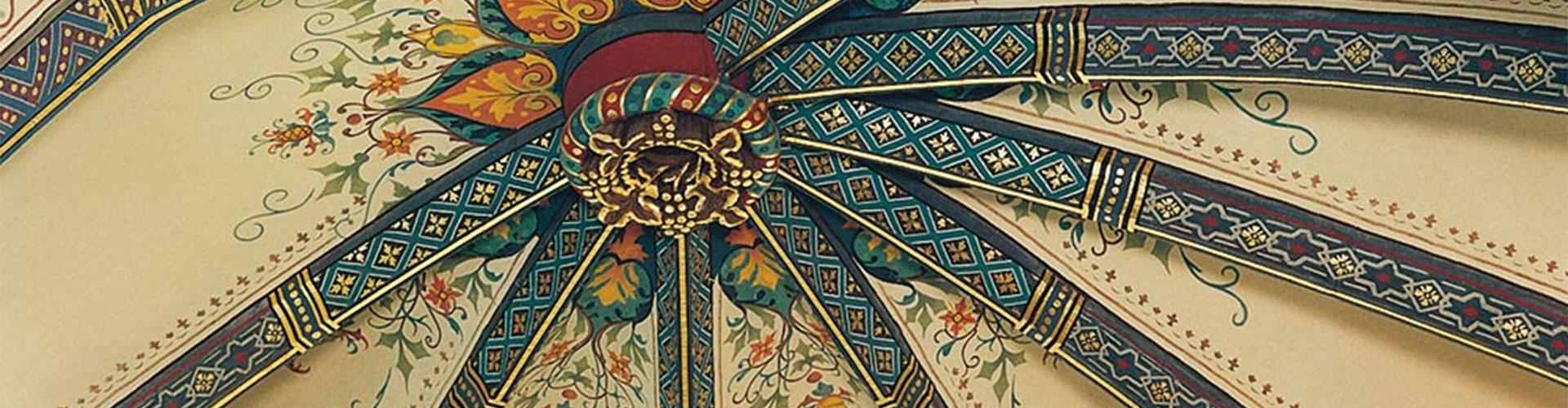 Deckenmalerei Slider von der Restaurierungen Berchem GmbH